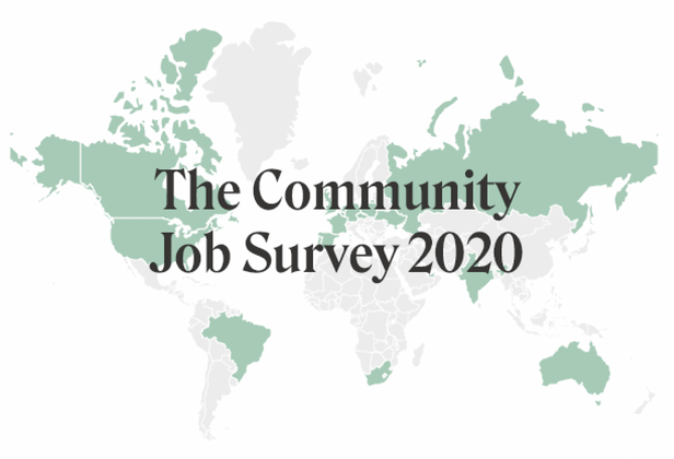 Cover image for Community Job Survey Results
