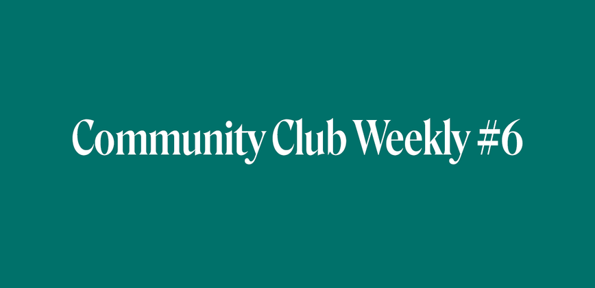 Cover image for Community Chat Weekly #6