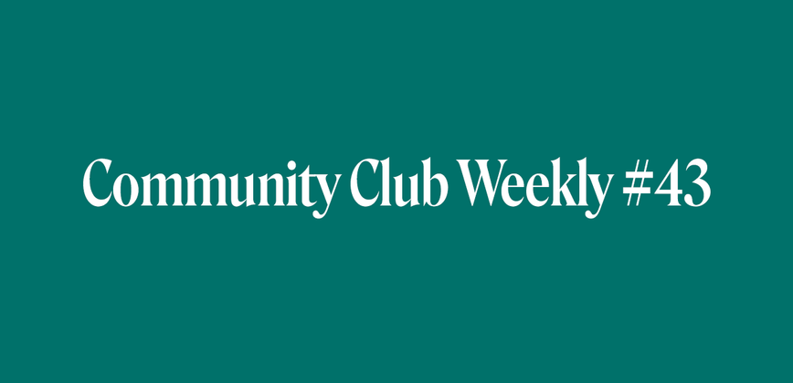 Cover image for Having Successful Disagreements | Community Club Weekly #43
