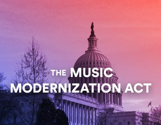Cover image for The impact of the music modernization law on the musical community