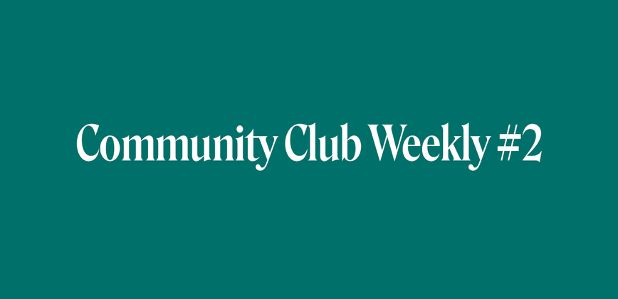 Cover image for Community Chat Weekly #2