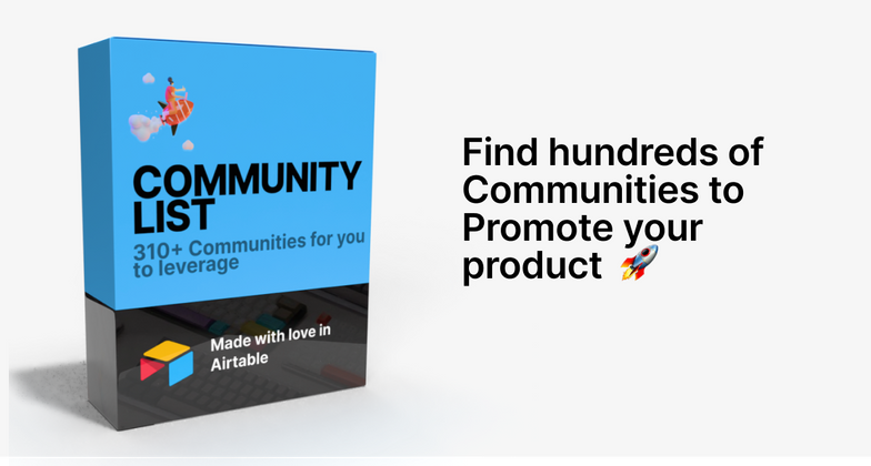 Cover image for Launching Community List, a database 310+ Communities