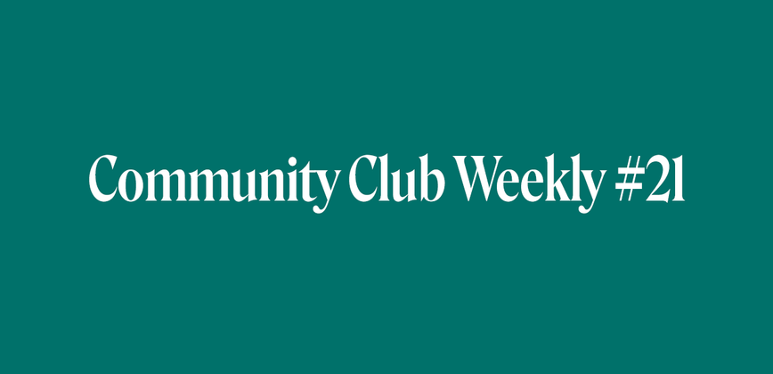 Cover image for Communities, Events, and the Impact of Coronavirus - Community Chat Weekly #21