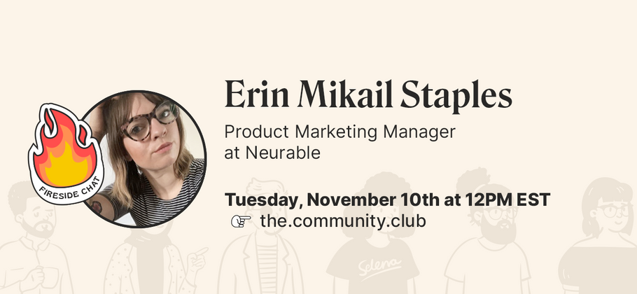 Cover image for Fireside chat on product-led communities