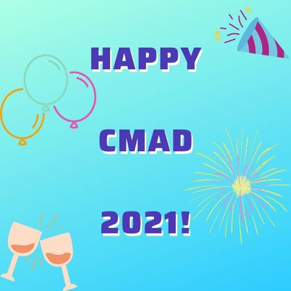 Cover image for Happy CMAD to all!