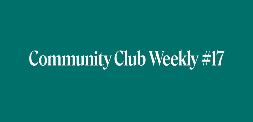 Cover image for How many communities can one person participate in? Community Chat Weekly #17