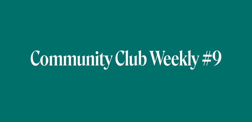 Cover image for Community Chat Weekly #9