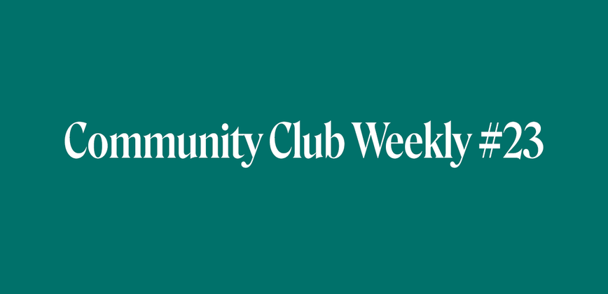 Cover image for Community is more important than ever - Community Chat Weekly #23