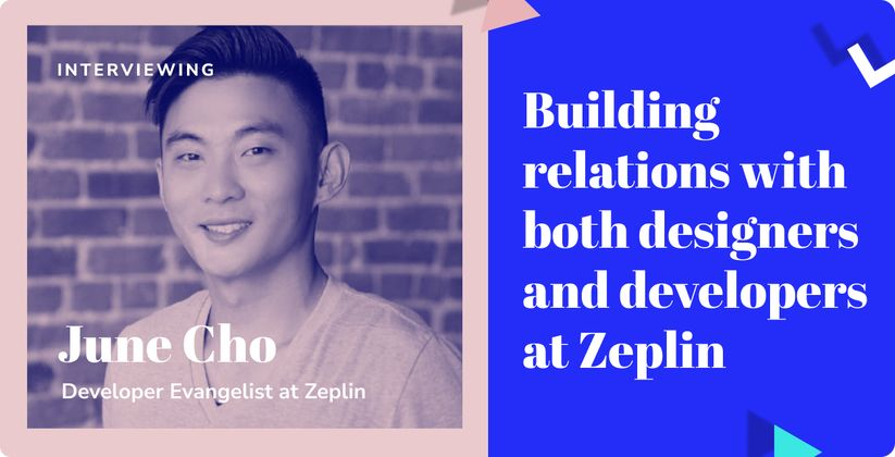 Cover image for Building relations with both designers and developers at Zeplin