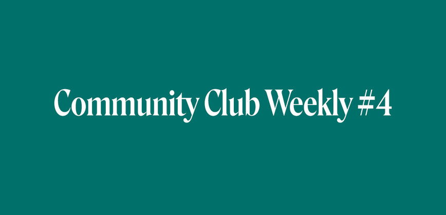 Cover image for Community Chat Weekly #4
