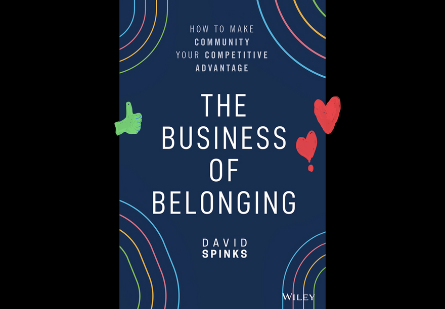 Business of Belonging book cover image