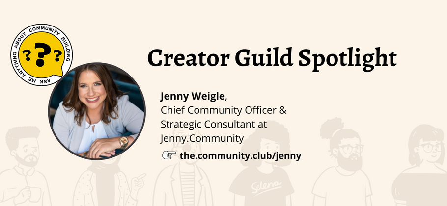 Cover image for Creator Guild Spotlight: Jenny Weigle